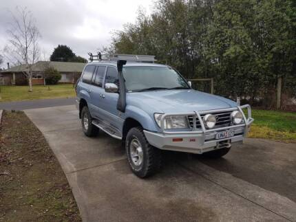 2002 Advantage series Toyota Landcruiser 105 Limited Edition Gisborne Macedon Ranges Preview