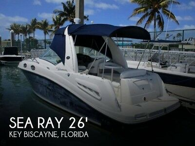 2006 Sea Ray 260 Sundancer Used