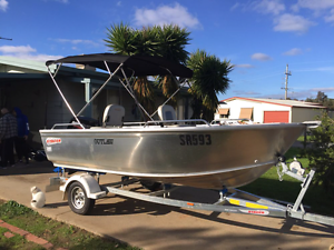 429 Stacer Outlaw 2016 boat 40hp mercury engine Sunshine West Brimbank Area Preview