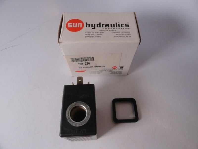 Sun Hydraulics 760-224 / 768001 Form A Connector 24 Volt DC Coil