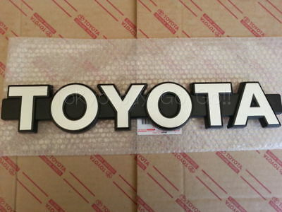 Toyota Land Cruiser FJ60 Front Grille Emblem NEW Genuine Parts 1981-1987