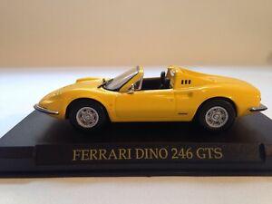 Ferrari Dino 246 GTS Yellow IXO 1:43 Scale New