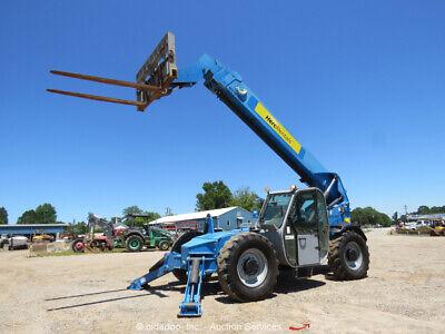 2012 Genie Gth-1056 10000lb 4wd Telescopic Reach Forklift Cab Ac Telehandler