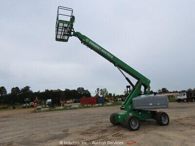 2011 Genie S60x 60 4wd Diesel Articulating Boom Lift Man Aerial Bidadoo
