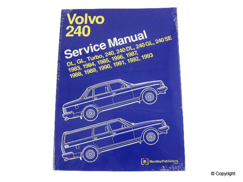 Repair Manual-Bentley Repair Manual WD EXPRESS fits 83-89 Volvo 244