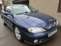 RENAULT MEGANE FIDJI VVT 16V COMES SRVICED AND 12 MONTHS MOT (blue) 2003