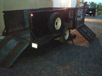 BUBBA - 12 ft. Utility Trailer