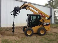 Rental equipment / car haulers, dump trailers, skid steer,