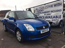 SUZUKI SWIFT GL (blue) 2008 NO DEPOSIT REQUIRED