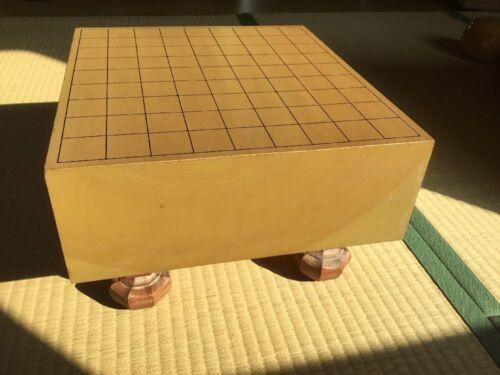 Shogiban schönes Shogi Brett mit Beinen, Tischchen für japanisches Schach