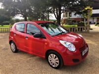 SUZUKI ALTO 1.0 SZ. 1 Owner from New, Excellent all round (red) 2014