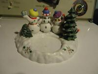 Partylite Christmas Time Candle holders