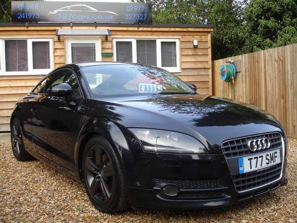 audi tt tfsi black 2007 in burgess hill west sussex gumtree. Black Bedroom Furniture Sets. Home Design Ideas
