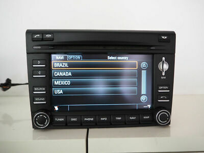 OEM 99764297000 Porsche 997 CAYMAN BOXSTER PCM3 Navigation Radio 911 SINGLE DISC