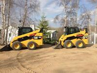 Rental equipment / car haulers, dump trailers, skid steer,