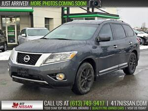 2014 Nissan Pathfinder SL 4WD | Leather Htd Seats, Rear Camera,