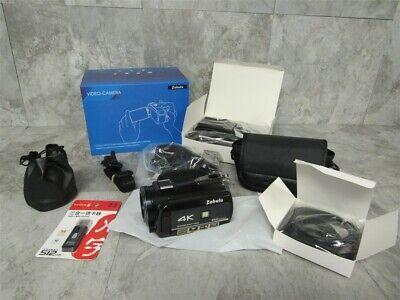 NEW in Box Zohulu 4K Video Camera w/ Accessories & 512GB Memory Stick! YouTube!