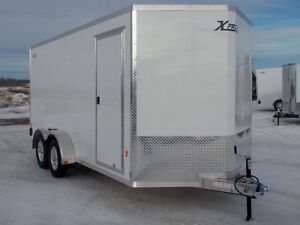 2017 ALCOM Xpress 7x16 Enclosed Cargo Trailer