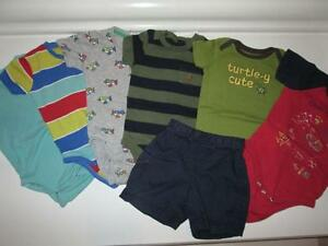 Boys size 6-12 month summer lot - Gap, Gymboree, H&M
