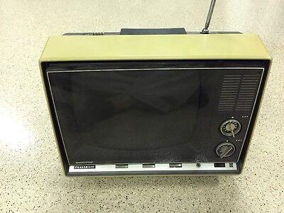 "Vintage PANASONIC TV set ""Speed-O-Vision"" RARE Television"