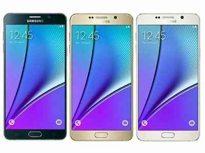 Unlocked Samsung Galaxy Note 5 - 4G LTE SM-N920A 64GB Smartphone - Color Stains