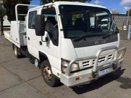 2006 Isuzu NPR Dual Cab Tray Top Tuart Hill Stirling Area Preview
