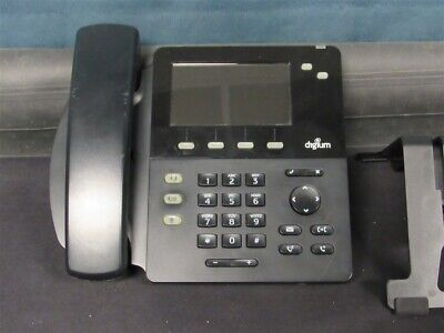 Digium D62 Ip Office Phone W Stand And Handset Tested