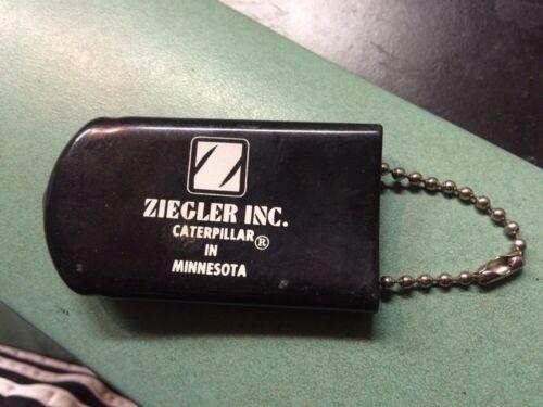 Caterpillar advertising Ziegler MN keychain coin purse key hider