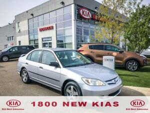 2004 Honda Civic SE   LOW KM's   ONE OWNER   CLEAN CarFax  