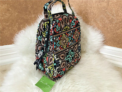 Nwt Vera Bradley Lunch Bunch Quilted Top Handle Bag Box In Sierra New