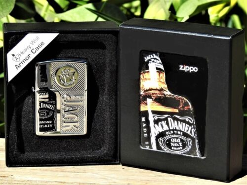 Zippo Lighter - I Know Jack Daniels - Armor Case - Old No. 7 - Limited Edition