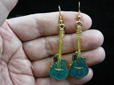 M-303-B Pick 1 of 4 colors OVATION Roundback GUITAR KEY CHAIN RING Jewelry WOW