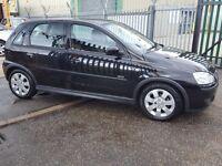 VAUXHALL CORSA 1.2 SXI 5 DOOR MANUAL PETROL IN BLACK GREAT CAR (black) 2006