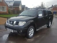 2009 Nissan Navara 2.5DCI Outlaw, Aventura Spec, 215BHP, Low Miles, FSH. P/X, Finance, C/Cards.