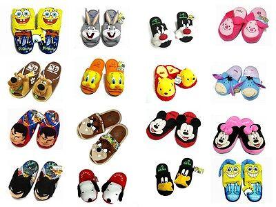 Men Women Adult TV Movies Cartoon Character Slippers Shoes Unisex EU 35-41