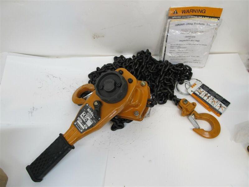 Magna LH07520, 3/4 Ton Lever Chain Hoist, 20