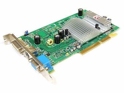 Sapphire 1024-hc20 ati radeon 9600SE 128M DDR V/D/VO DVI VGA TV AGP Video Mappa