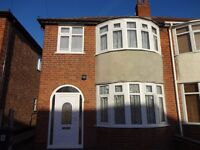 3 Bedroom House TO LET LE2 AREA