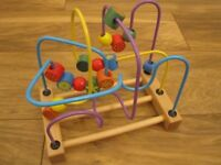 Wooden Bead Maze Baby Toy
