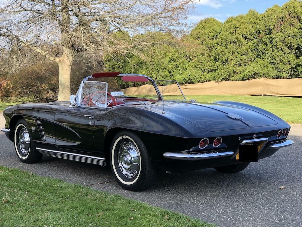 1962 Black Chevrolet Corvette   | C1 Corvette Photo 8