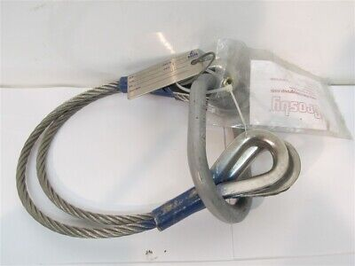 Delta Rigging And Tools 38 X 2 2 Leg Stainless Steel Wire Rope Sling