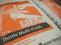 Thistle Multi Finish 25 KG Plaster
