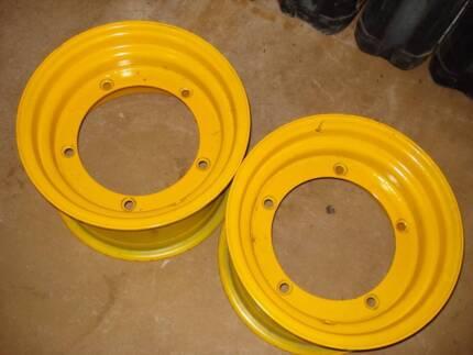 Front Wheel Rims for JCB 3CX Backhoe