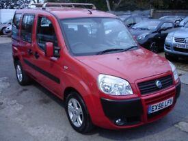 FIAT DOBLO FAMILY 1.3 MULTIJET DIESEL (red) 2006