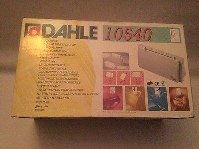 Dahle 10540 Professional Desktop Letter Folder Folding Machine Office Gadget