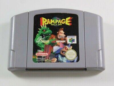 RAMPAGE WORLD TOUR NINTENDO 64 (N64) PAL-EUR (CARTRIDGE ONLY - GOOD CONDITION)
