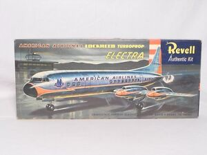 REVELL AA LOCKHEED TURBOPROP ELECTRA MODEL KIT UNUSED UNASSEMBLED Very nice