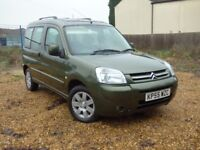CITROEN BERLINGO MULTISPACE MULTISPACE DESIRE HDI (green) 2005