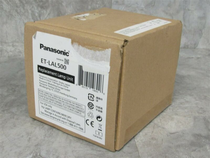 PANASONIC ET-LAL500 Projector Lamp OEM original Bulb SEALED BOX!