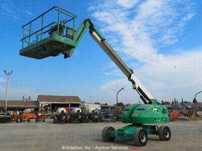 2011 Jlg 460sj 46 4wd Diesel Telescopic Boom Lift Man Aerial Genset Bidadoo